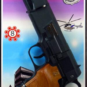 8-Schuss Pistole Powerman Agenten
