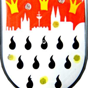 Blinky Kölnwappen mit Skyline