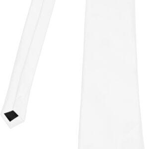 Krawatte zum Binden (weiss)