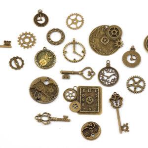 Steampunk Mechanikset 19 Teile