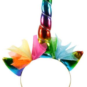 Haarreif Einhorn Regenbogen bunt