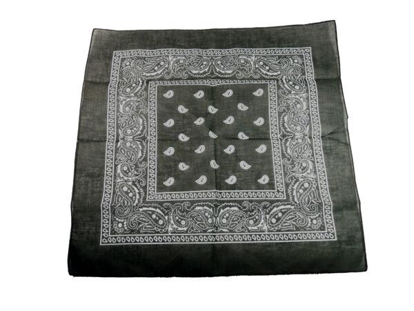 Halstuch schwarz/weiß