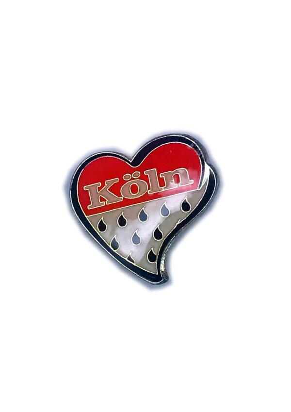 Ansteckpin Herz Wappen