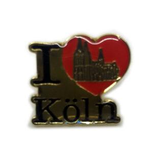 Ansteckpin I love Köln