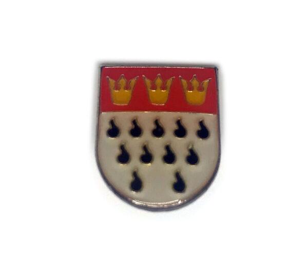 Ansteckpin Köln Wappen