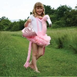 Reittier Flamingo für Kinder
