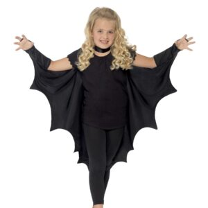 Vampire Bat Wings, Black