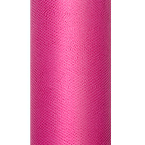 1 Rolle Tüllband - Pink - 0,08 m x 20 m