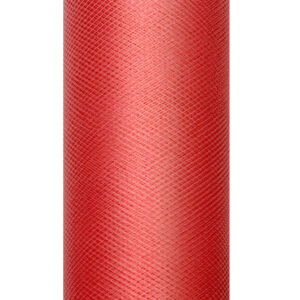 1 Rolle Tüllband - Rot - 0,08 m x 20 m