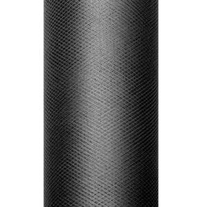 1 Rolle Tüllband - Schwarz - 0,08 m x 20 m