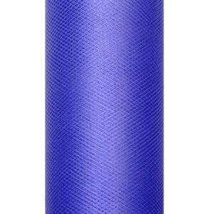 1 Rolle Tüllband - Marineblau - 0,08 m x 20 m