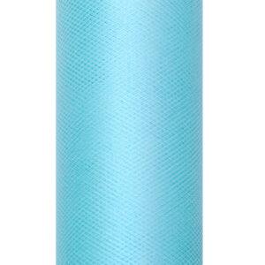 1 Rolle Tüllband - Türkis - 0,08 m x 20 m