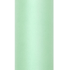 1 Rolle Tüllband - Mint - 0,08 m x 20 m