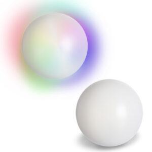 Kristallkugel aus Plastik mit LED-Farbwechsel