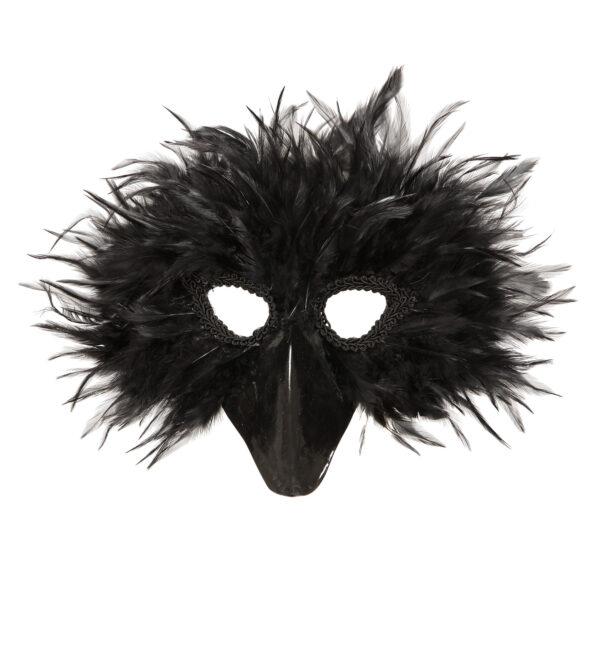Maske schwarzer Vogel