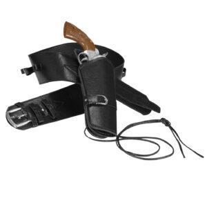 Westernpistolenhalter Holster für eine Pistole schwarz