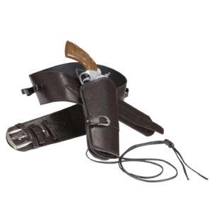 Westernpistolenhalter Holster für eine Pistole braun
