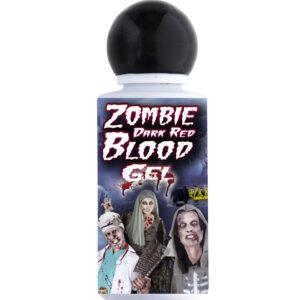 Zombieblut, dunkelrot als Gel 48 ml