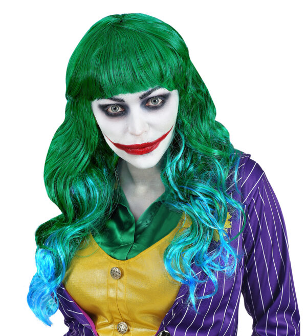Evil Joker Perücke