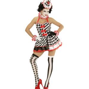 Kostüm Pierrot Girl Gr. L