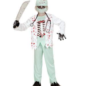 Kostüm Zombie Doktor Gr. 140
