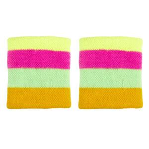 Schweissband Neon-Multi