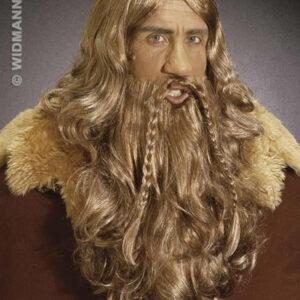 Perücke Wikinger inkl. Bart und Schnurrbart