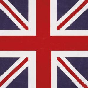 Kopftuch England 55 x 55 cm