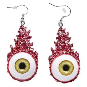 Ohrringe blutige Augen
