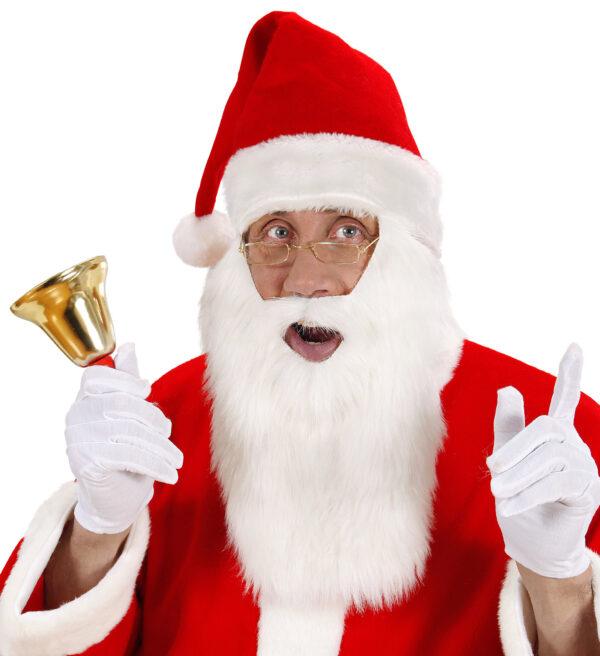 Mütze Weihnachtsmann mit Bart