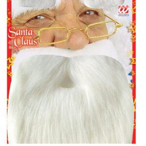 Set Weihnachtsmann Bart mit Augenbrauen