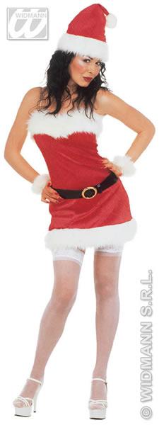 Kostüm Weihnachtsfrau, Mrs. Santa, Nikolaus