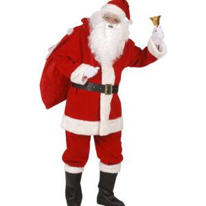 Weihnachtsmannkostüm Luxusausführung Gr. XL