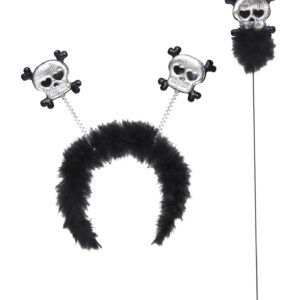 SKULL & CROSSBONES HEAD BOPPER & WAND SET
