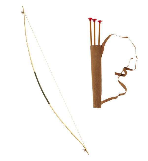 Pfeil und Bogen im Set (Bogen, Köcher, Pfeile)