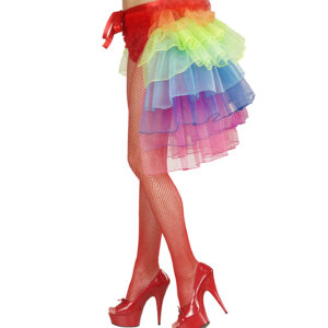 Bustle Skirt - Regenbogen
