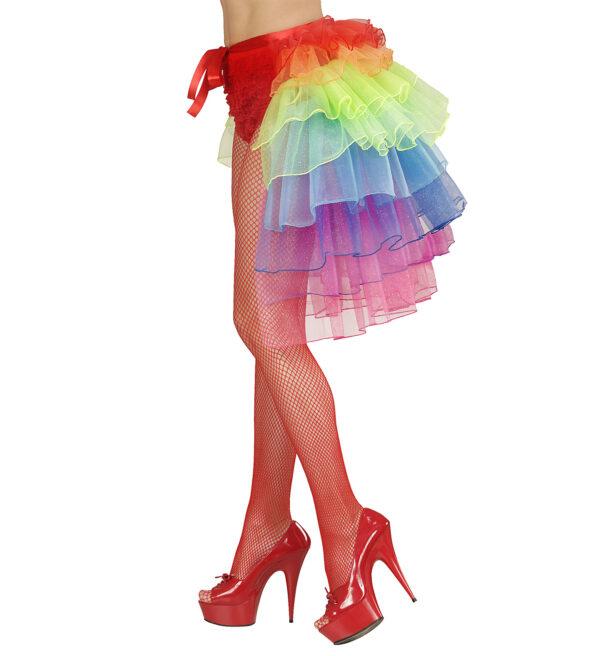 Bustle Skirt - Regenbogen