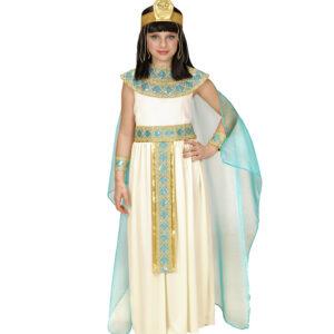 Mädchenkostüm Cleopatra 5teilig Gr. 128