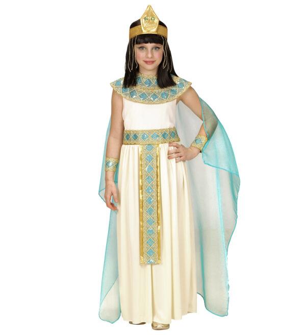Mädchenkostüm Cleopatra 5teilig gr. 140