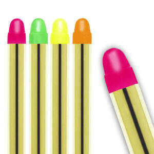 SET MIT 5 NEONFARBENEN MAKE-UP STIFTEN