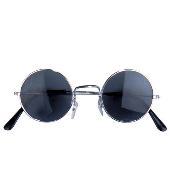 Schwarze Lennonbrille