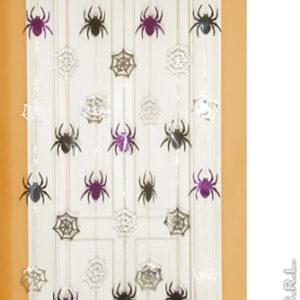 Türvorhang Spinnen und Spinnweben