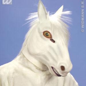 Maske Pferd, weiß