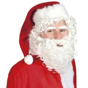 Weihnachtsmannperücke mit Augenbrauen und Bart