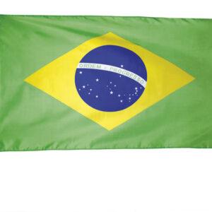 Flagge Brasilien Polyester 90 x 150 cm