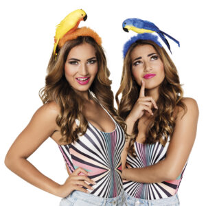 Tiara Papagei 2 Farben