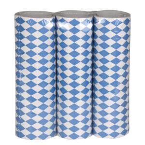 Bänder Bavaria blau-weiß 3erSet 4m