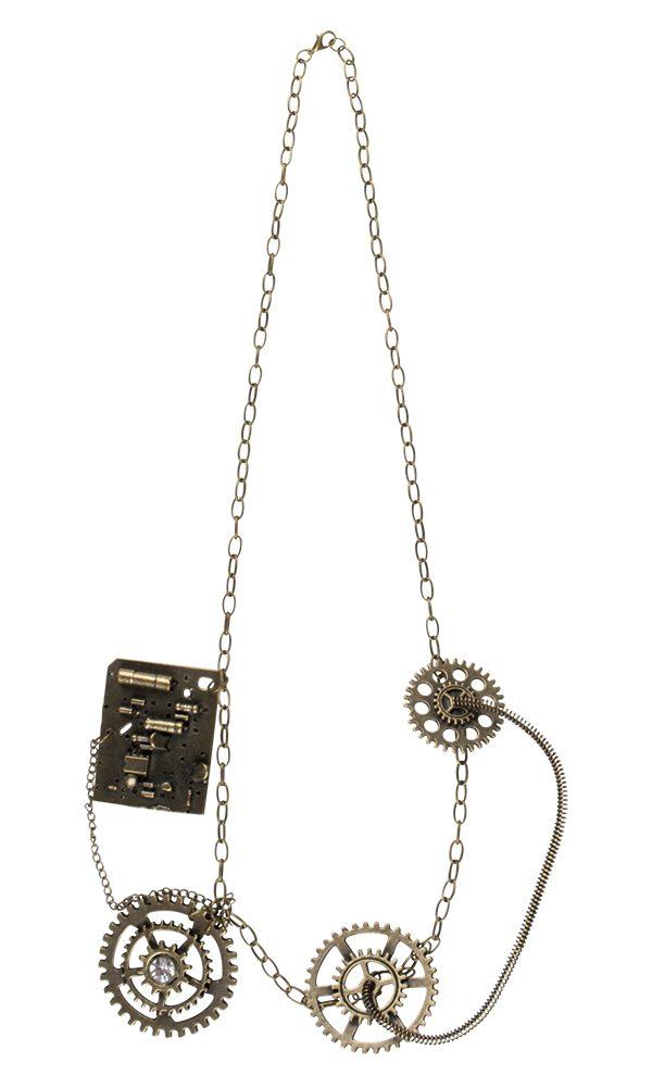 Halskette Steampunk Luxe