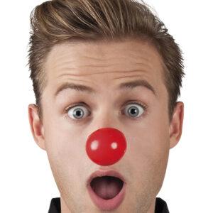 Satz 24 Clownsnasen plastik