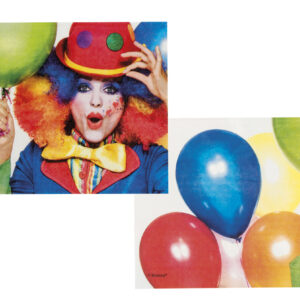 Servietten Clown 12Stk